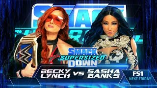 Becky Lynch vs Sasha Banks (Full Match Part 3/3)