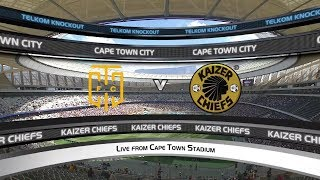 Telkom Knockout | Last 16 | Cape Town City v Kaizer Chiefs | Highlights