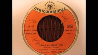 Alias Mamadou et l'orchestre Cercul Jazz - lambo na lambo (Disques africambiance AA47)