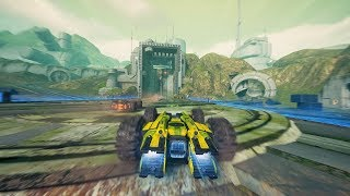 GRIP - Early Access Game! (Remember Rollcage for PS1?)