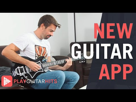 Start learning the guitar now! [Play Guitar Hits application]