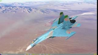 DCS Su-27 Flanker vs F/A-18c Hornet