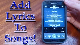 Video Add Lyrics To Music on Android+Change All Details! download MP3, 3GP, MP4, WEBM, AVI, FLV Agustus 2017