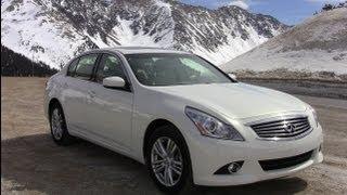 2012 Infiniti G25 AWD 0-60 MPH High Altitude Colorado Review