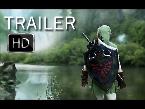The Legend Of Zelda Trailer #1 2017 - Movie HD (Fanmade)