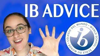 10 tips I wish I knew before IB | IB advice and mindset