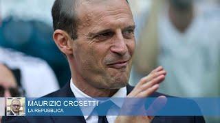 """Allegri, Crosetti: """"Mai del tutto amato, sarebbe potuto rimanere alla Juve solo vincendo Champions"""""""