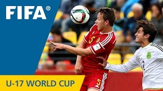 3rd Place Highlights: Belgium v. Mexico - FIFA U17 World Cup Chile 2015