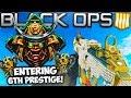 ENTERING 6TH PRESTIGE! #1 RANKED PLAYER in Black Ops 4 RACE! (COD Black Ops 4 Multiplayer LIVE)