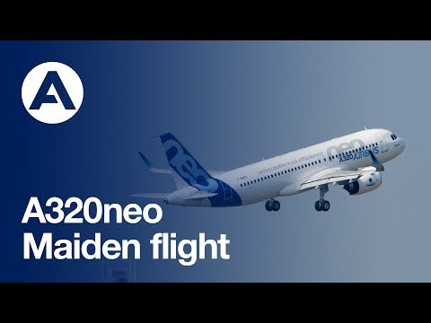 Relive the A320neo's historic first flight
