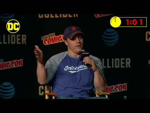 Geoff Johns Introduces The Release Of Doomsday Clock - Watch At 11.57PM