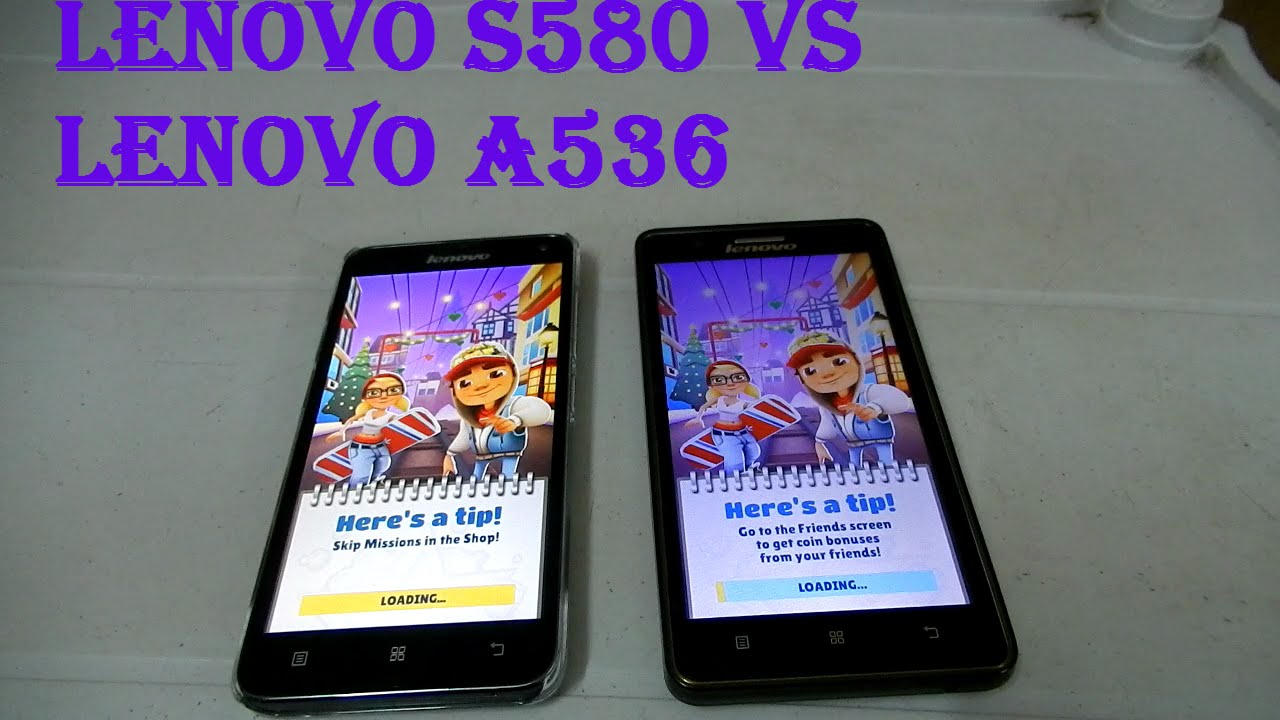 Lenovo S580 Vs A536 Speed Test Youtube A859 Smartphone With Quadcore And 1gb Ram