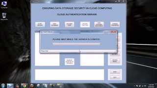 ENSURING DATA STORAGE SECURITY IN CLOUD COMPUTING - FINAL YEAR PROJECT.avi