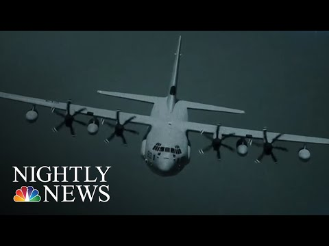 Marine Search And Rescue Mission Enters Second Day | NBC Nightly News