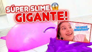 HICIMOS BURBUJAS DE SLIME GIGANTES!!! Quede ATRAPADA! 😱 | Leyla Star 💫