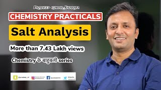 Tips And Tricks For Salt Analysis Class 12