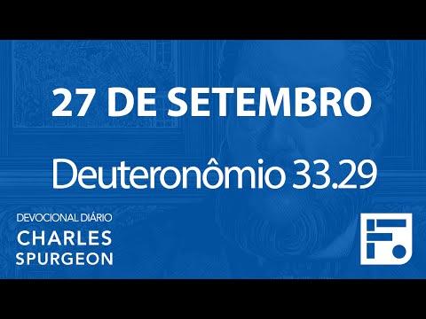 27 de setembro – Devocional Diário CHARLES SPURGEON #271