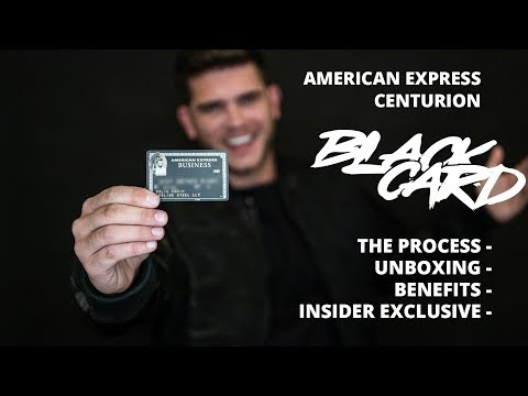 How I Received An American Express Black Card, The Benefits, And The Unboxing