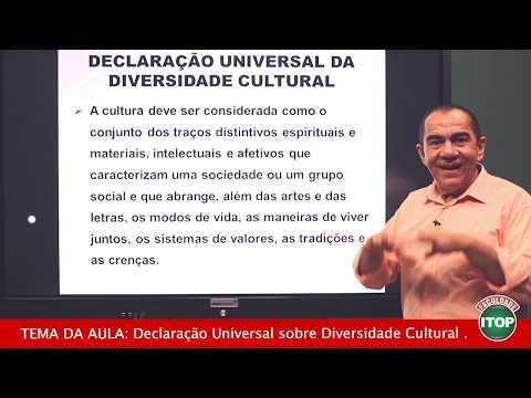 PEDAGOGIA - DECLARAÇÃO UNIVERSAL SOBRE DIVERSIDADE CULTURAL
