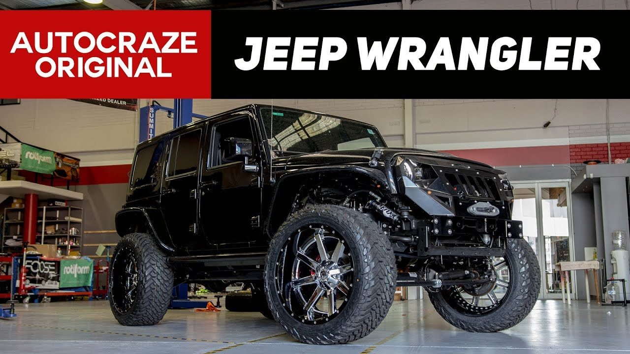 Jeep Wrangler Wheels >> Mr Omg Wrangler 24 Fuel Maverick Wheels Tyres Epic Jeep Wrangler Build Autocraze 2017