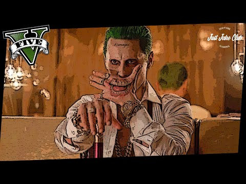 SUICIDE SQUAD: THE JOKER CHARACTER COSPLAY TUTORIAL (GTA 5 ONLINE CUSTOM OUTFIT)