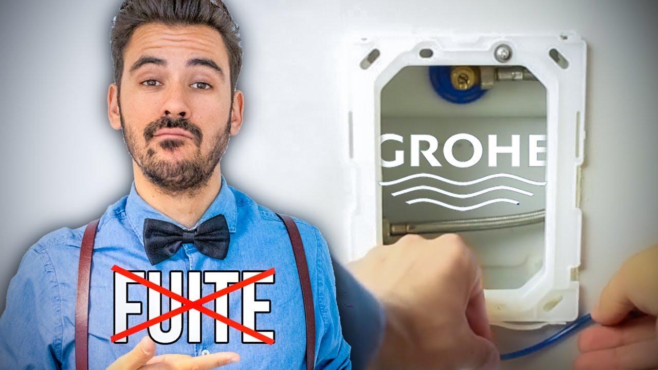 Comment Réparer Une Chasse Deau Wc Suspendus Grohe