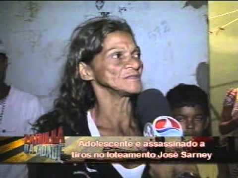 Adolescente e assassinado a tiros no loteamento Jose Sarney