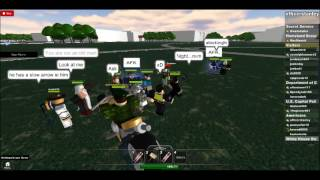 Roblox USA Party with the president