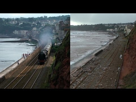 Dawlish Sea Wall: Before & After