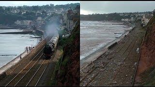 Dawlish Sea Wall: Before & After