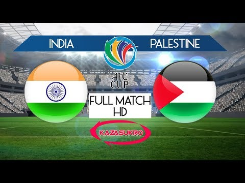 AFC U-16 Championship Qualifiers 2018 India VS Palestine (Full Match HD)