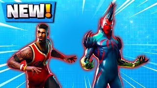 The *NEW* SKINS in Fortnite! | Lebron James, Alien Fish! ( Update Leaks )
