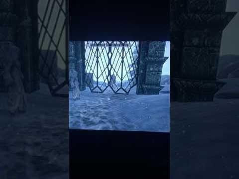 Skyrim Se Console Black Screen Glitch   - YT