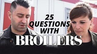 25 Fragen mit Broilers