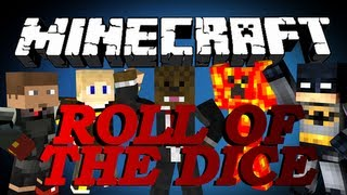 BRAND NEW Minecraft Roll Of The Dice Minigame w/ xRPMx13, TBNRFrags, GoldSolace and LogDotZip