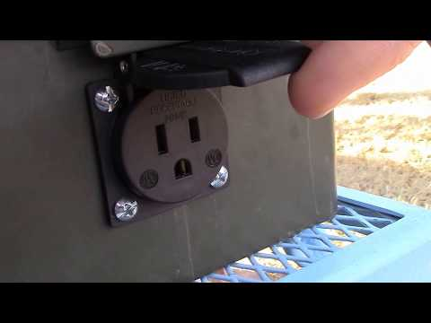 New AC outlet for ammo box (600w micro solar generator)