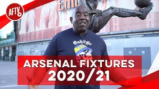 Arsenal Fixtures 2020/21 Season | A Chance For A Great Start!