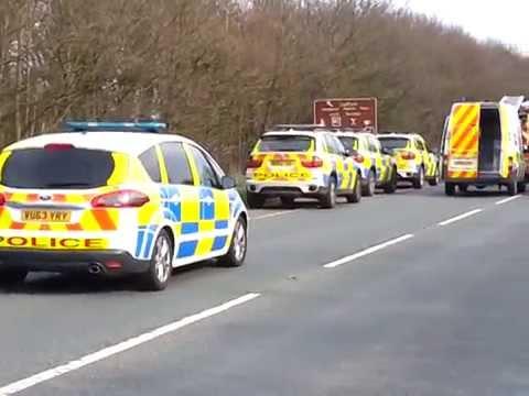 Crash scene near Ludlow