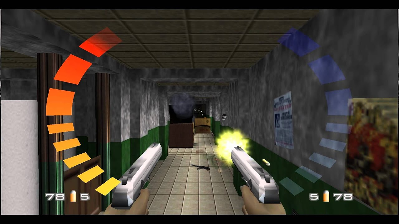 Goldeneye 007 N64 Archives 00 Agent Youtube