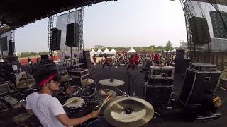 Nicko Prabowo - STRAIGHTOUT FULLSHOW Live in Hammersonic (Drumcam)