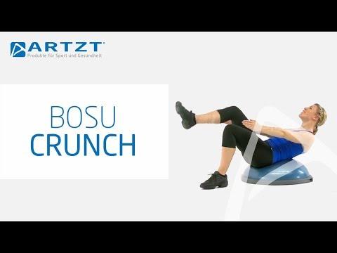 Etwas Neues genug BOSU Balance Trainer - Crunch mit Beineinsatz - YouTube @KU_08