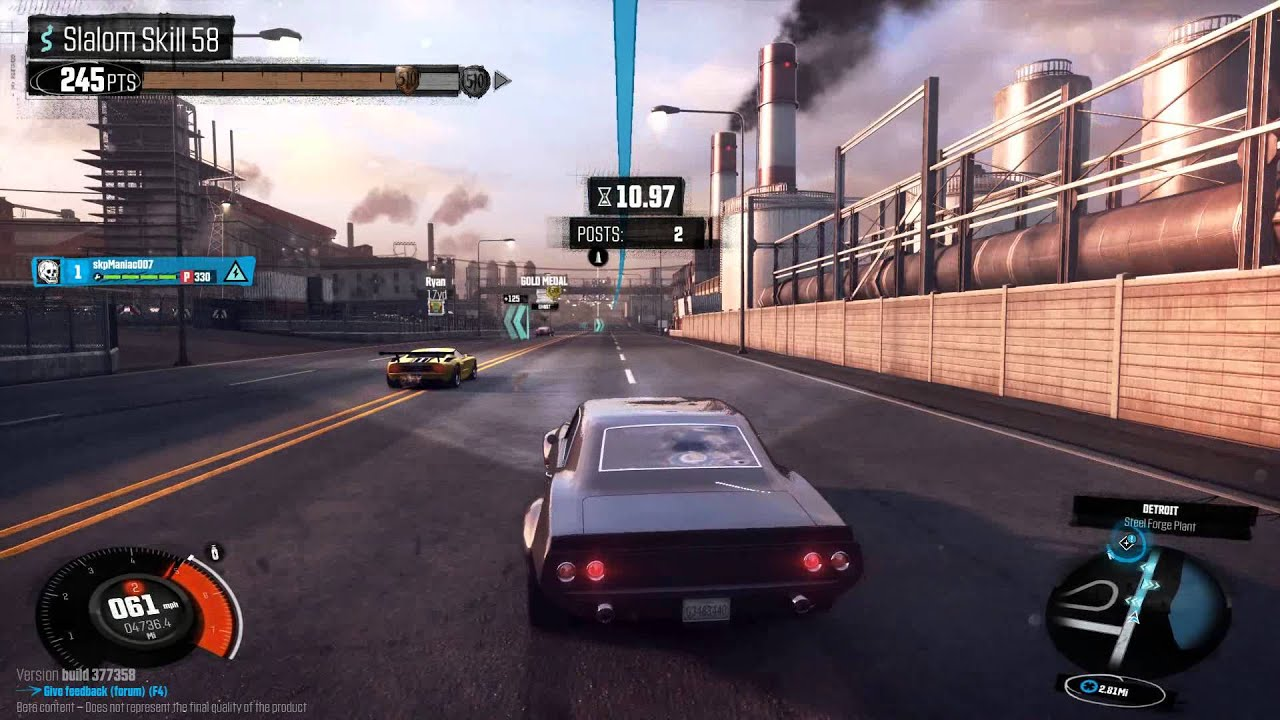 The Crew - Brilliant new car racing game from UBISOFT (BETA) - YouTube
