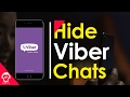 How to Hide Viber Chats (2017)