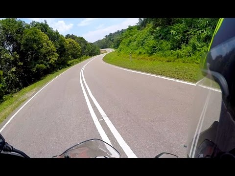 Ducati Hyperstrada Solo Ride From Singapore To Mersing And Ayer Hitam