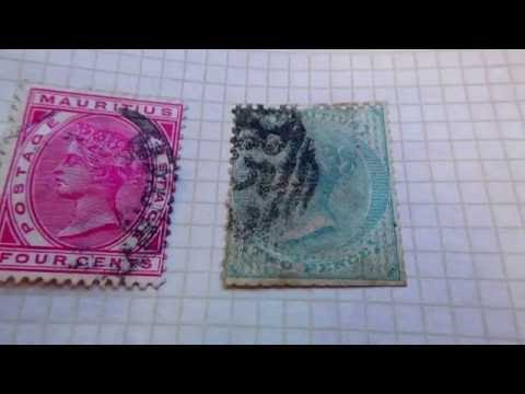 Old/Rare Mauritius Postage Stamps