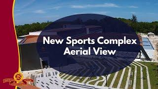 New Sports Complex (Aerial Video) - Jerudong International School (JIS Brunei)