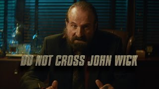 DO NOT CROSS JOHN WICK