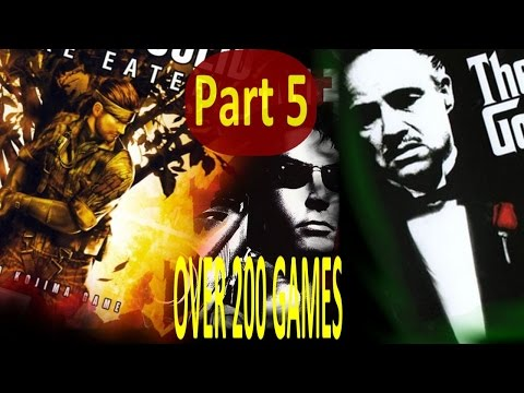 TOP PS2 GAMES -OVER 200 GAMES- (PART 5 of 5)