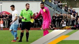 Tim Wiese debütiert beim SSV Dillingen - Highlights | SPORT1