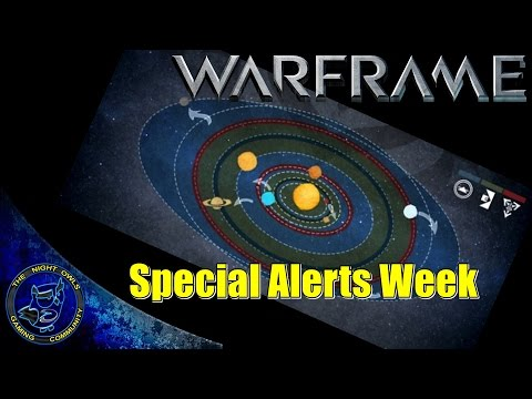 Warframe: Special Alerts Week | Back To School | Full Details (HD 1080p)